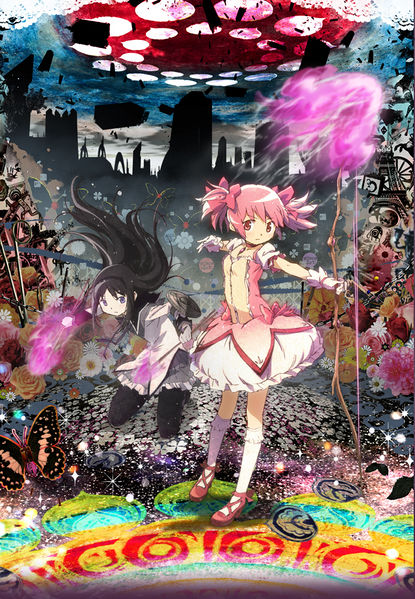 Clean Movie Posters 415px-Madoka_magica_movie_poster_theater_lean_version