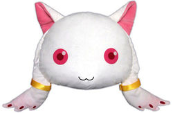 Kyubey face cushion.jpg