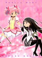 Madoka homura movie art official.jpg