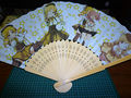 Mami madoka japanese wooden fan.jpg