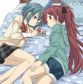 Kyousaya soulgems in bed.jpg