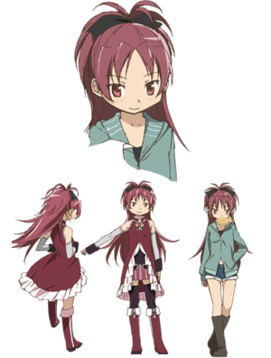 Kyoko Sakura - Puella Magi Wiki