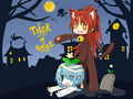 Kyosaya moe halloween cosplay trick or treat.jpg