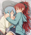 Kyousaya crying sleeping together.jpg