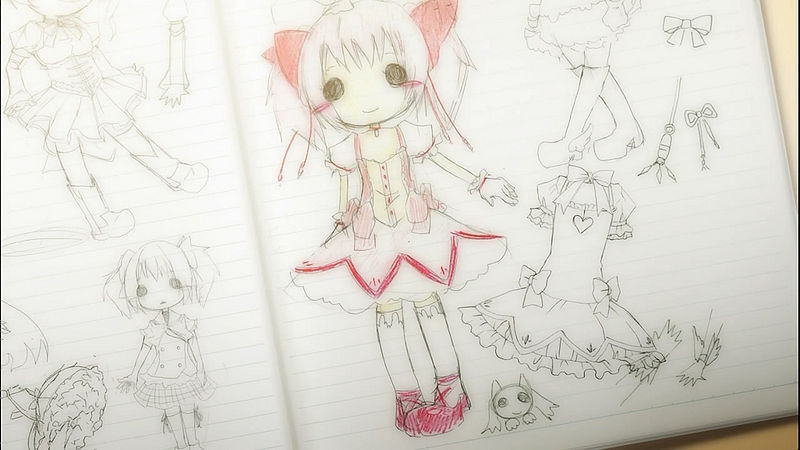 File:Madoka Sketch.jpg